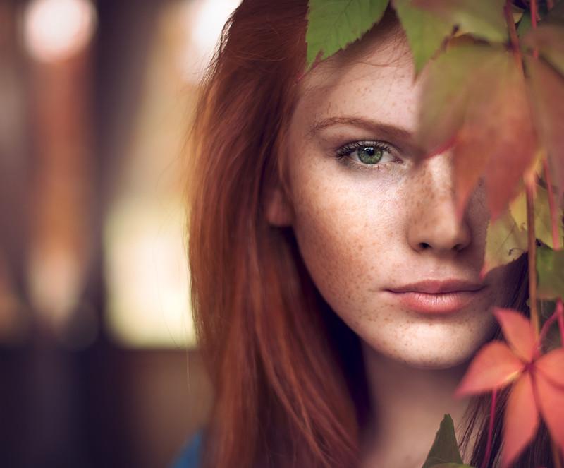 Страшные девушки рыжие фото