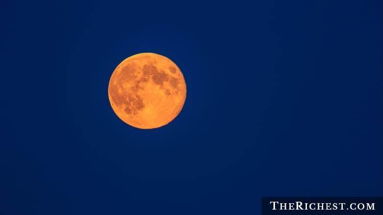 1. Цвет Луны луна, факт