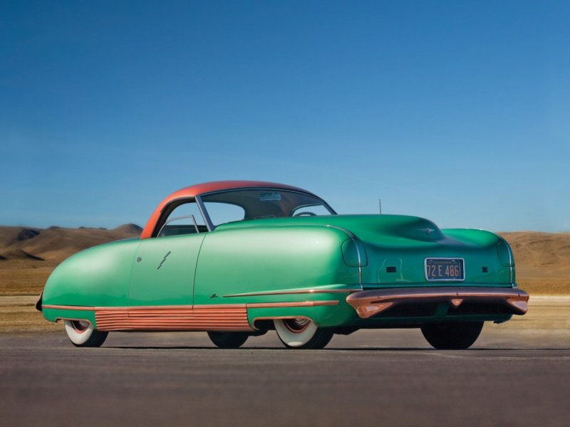 "Chrysler Thunderbolt - ""The Car of the Future"" 1940 года"