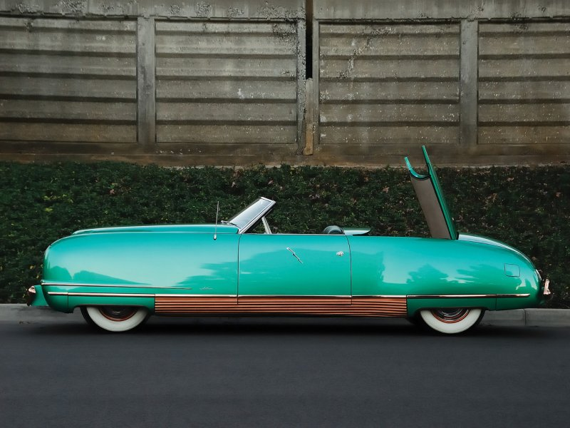 "Chrysler Thunderbolt - ""The Car of the Future"" 1940 года Thunderbolt, chrysler, концепт-кар, олдтаймер"