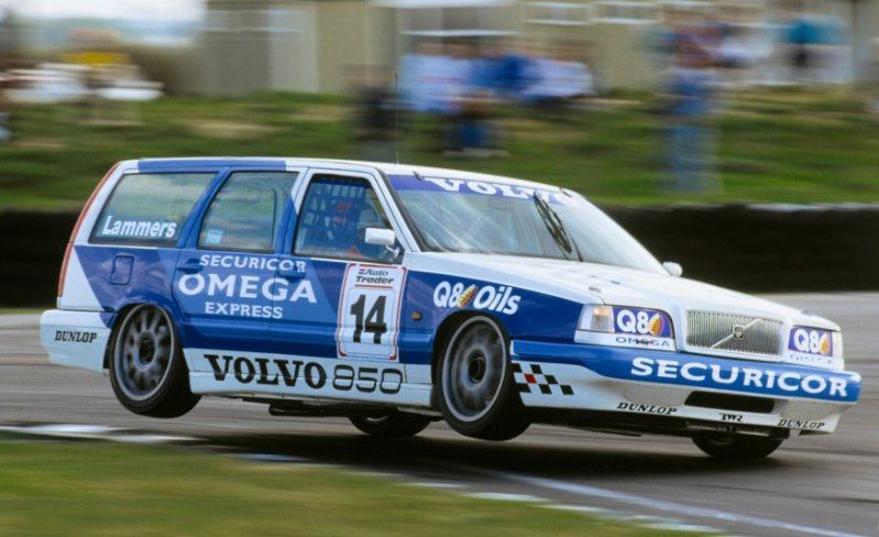 Volvo 850 BTCC race car volvo, универсал