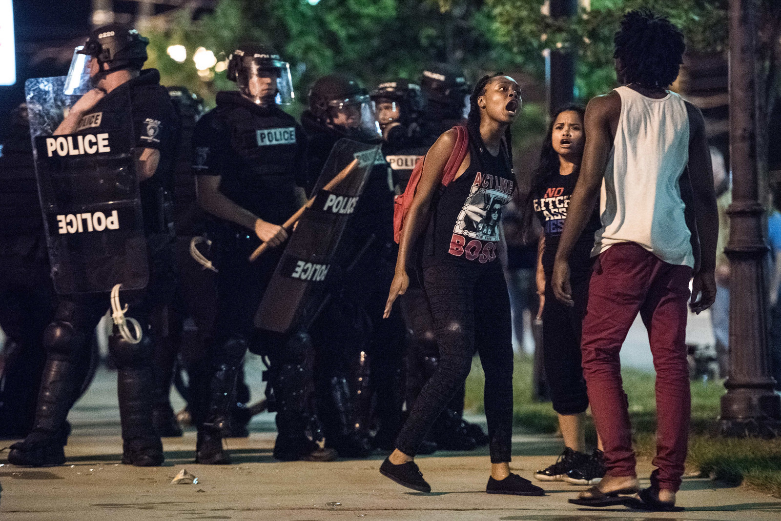 Гражданские беспорядки в США: Шарлотт в огне Шарлотт, беспорядки, бунт, сша