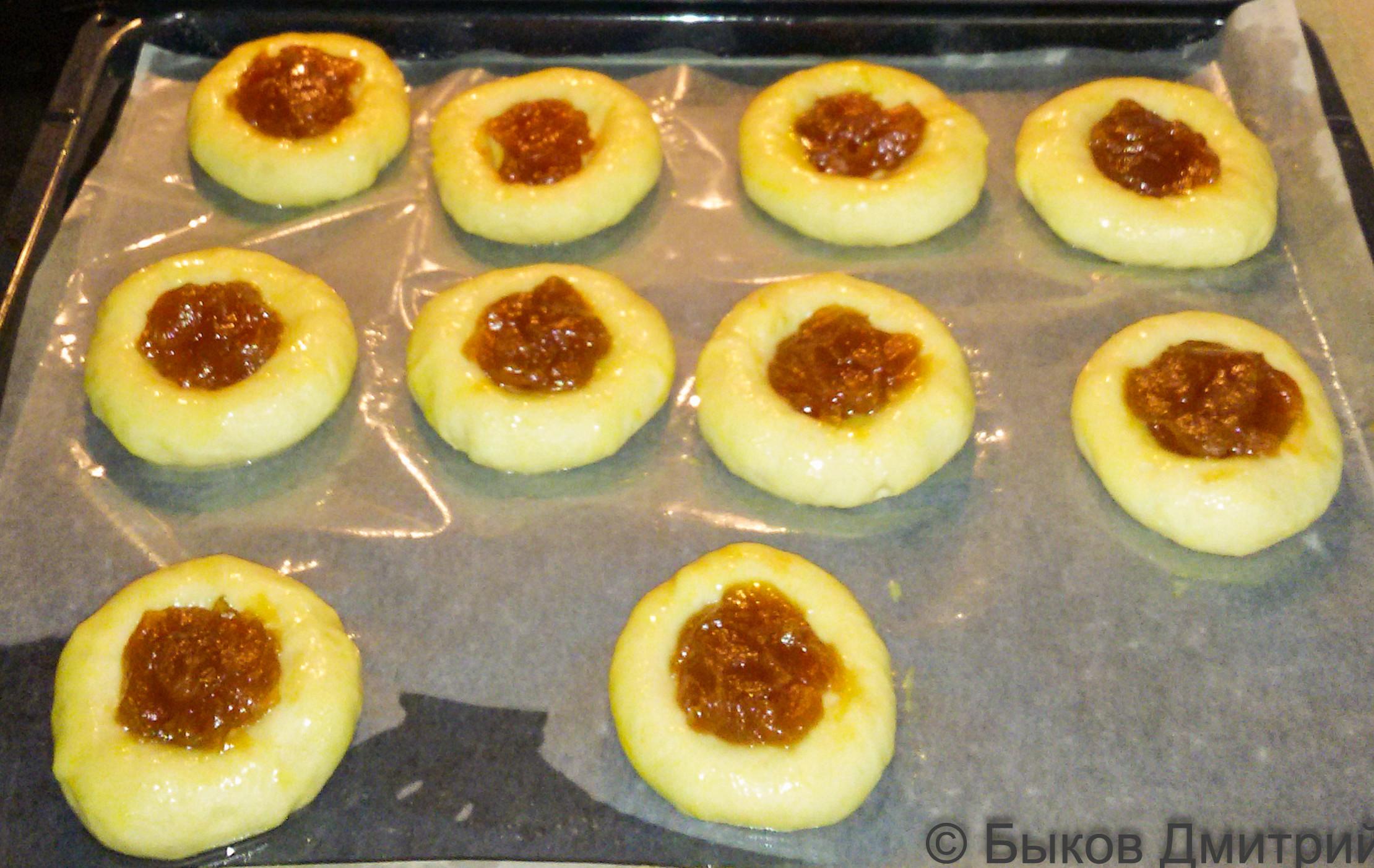 школьные булочки восьмерки рецепт