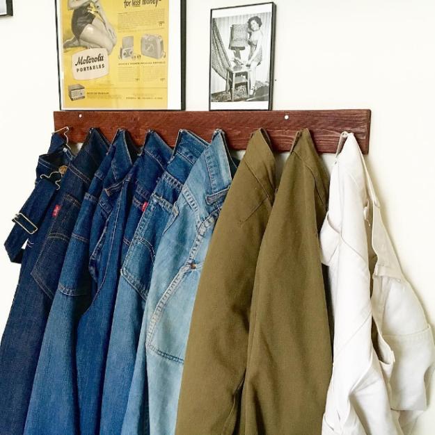 6. Держите базовые вещи отдельно, чтобы их всегда было легко найти гардероб, одежда, советы, хитрости