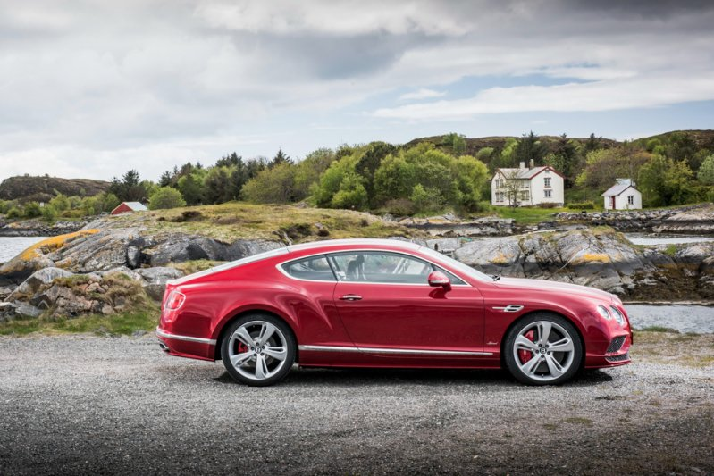 Bentley Continental GT Speed спорткары, суперкары