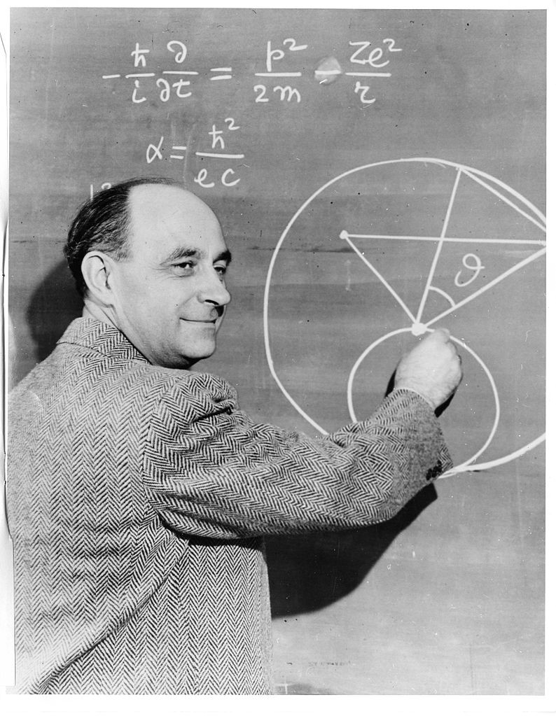 a biography and work of the italian physicist enrico fermi