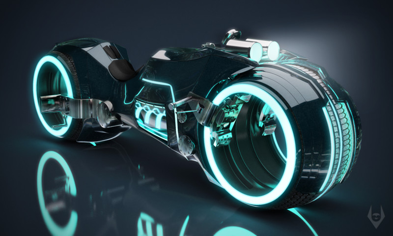Tron Light Cycle байк, мото, мотоциклы, транспорт, Ñарлей давидсон, чоппер