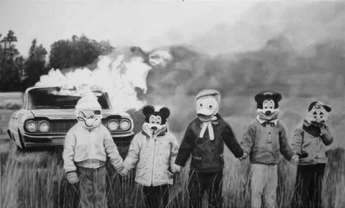 Мир Диснея история, прошлое, страх, ужас, фото