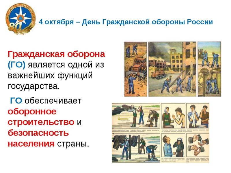 4 октября день гражданской обороны открытка