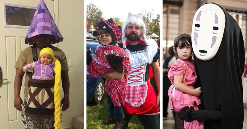 Отличные идеи семейных костюмов на Хэллоуин fe74d5e51f102