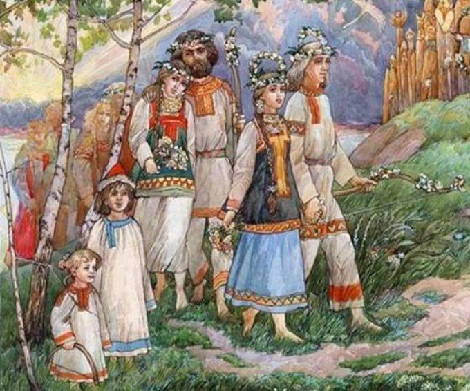 В древности праздник урожая девки и парни занимались сексом чтобы плодородие было