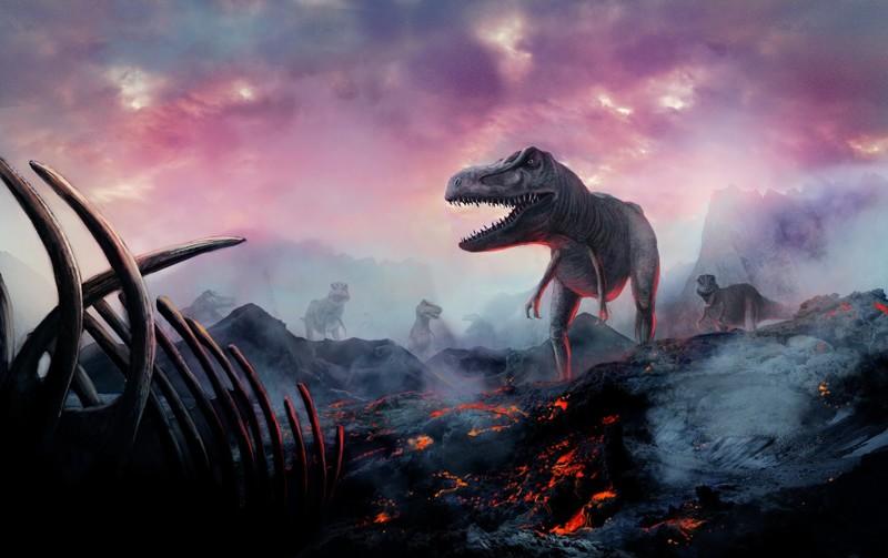 Гибель динозавров в картинках с названиями