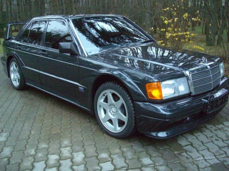 Новый Mercedes-Benz 190 Evolution II 1990-го года