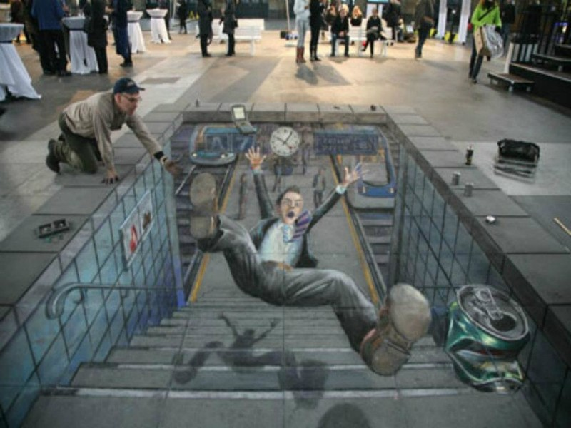 Рисунки уличных художников из разных стран мира street art graffiti, искуство