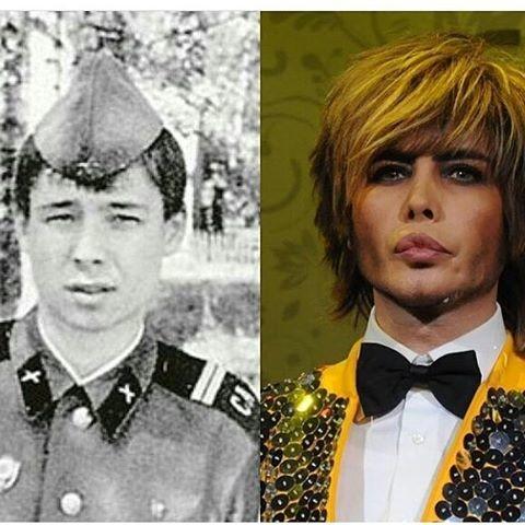 Сергей Зверев знаменитость, тогда и сейчас