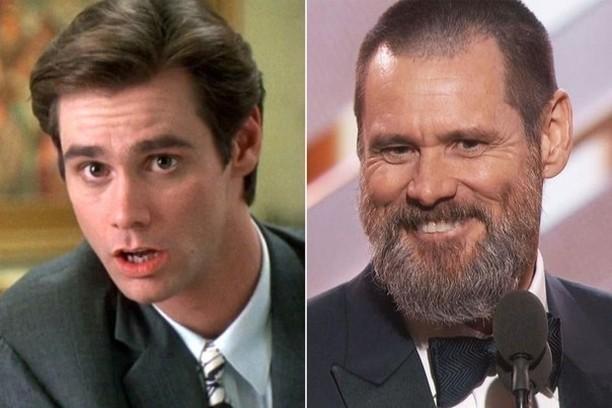 Джим Керри знаменитость, тогда и сейчас