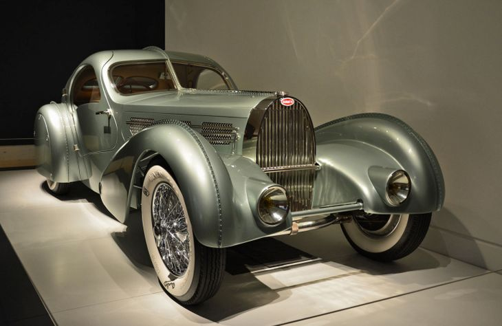 Bugatti Type 57S Competition Coupe Aerolithe автодизайн, дизайн, концепт-кар