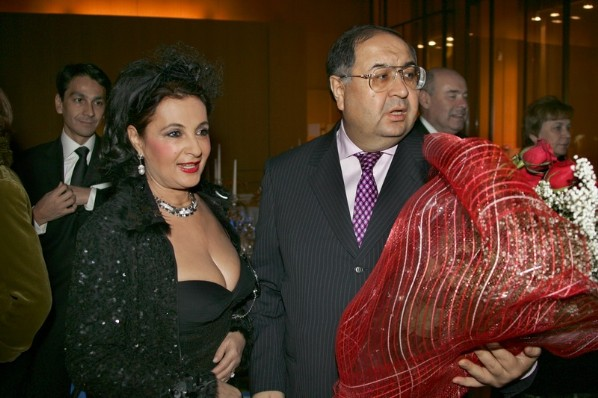 Алишер Усманов и Ирина Винер Трамп, богатые жёны, миллиардеры, супруги