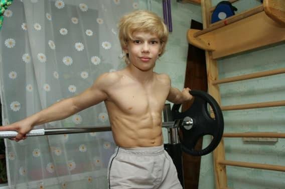 Андрей Косташ дети, силачи, удивительное рядом