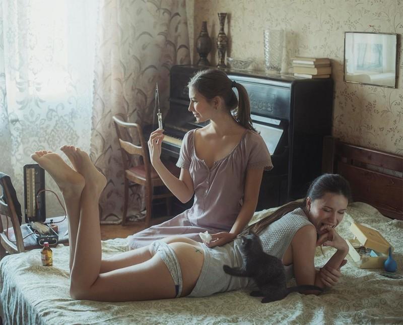Русские женщины пенсионерки в попу