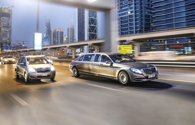 Тест нового Mercedes-Maybach Pullman
