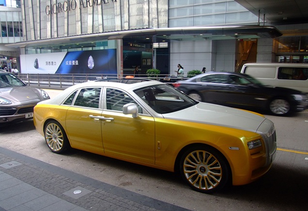 Rolls-Royce Ghost миллиардер, миллионер, суперкары