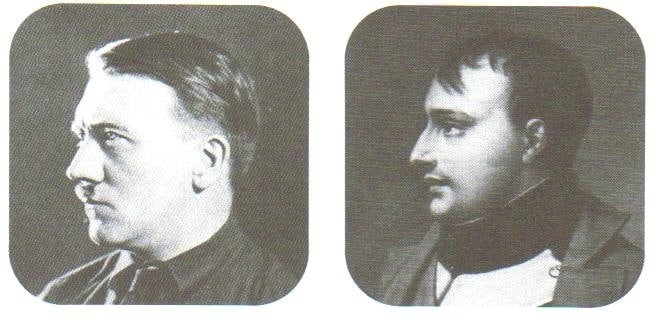 a comparison of the similarities between the lives of napoleon bonaparte and adolf hitler Axis history forum similarities between adolf hitler and napoleon bonaparte similarities between adolf hitler and napoleon bonaparte.