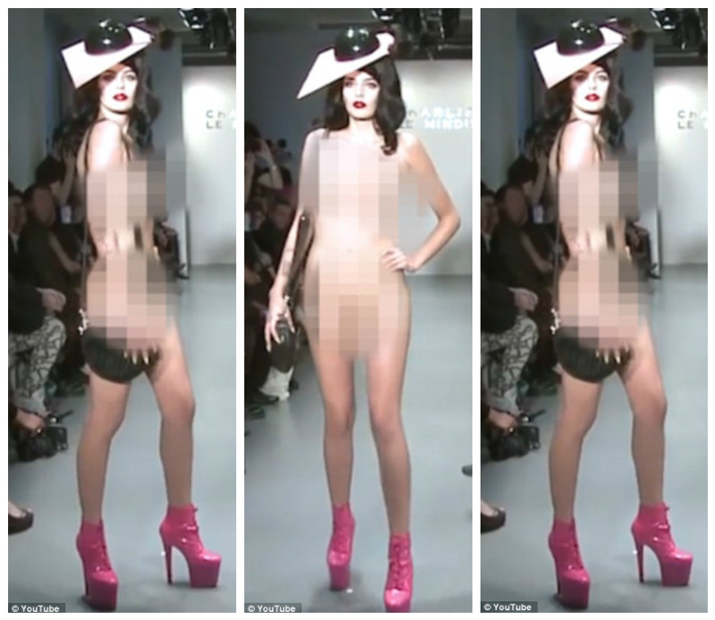 Голые девушки на показе голой моды видео — photo 11