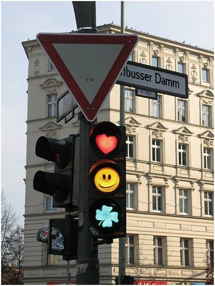 Смешные картинки светофоров
