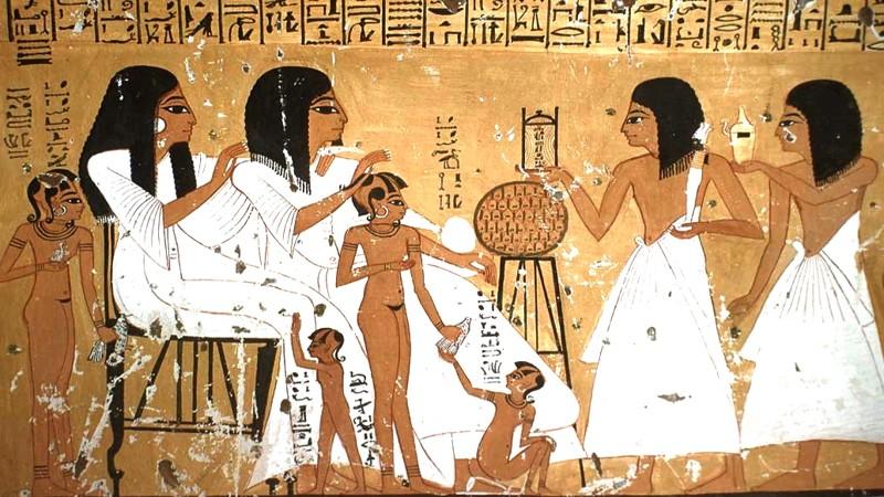 Подробности о сексе в древнем египте