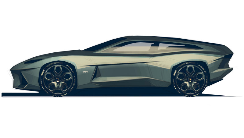 Проект Игоря Шитикова Lamborghini GTV700—2 Shooting Brake