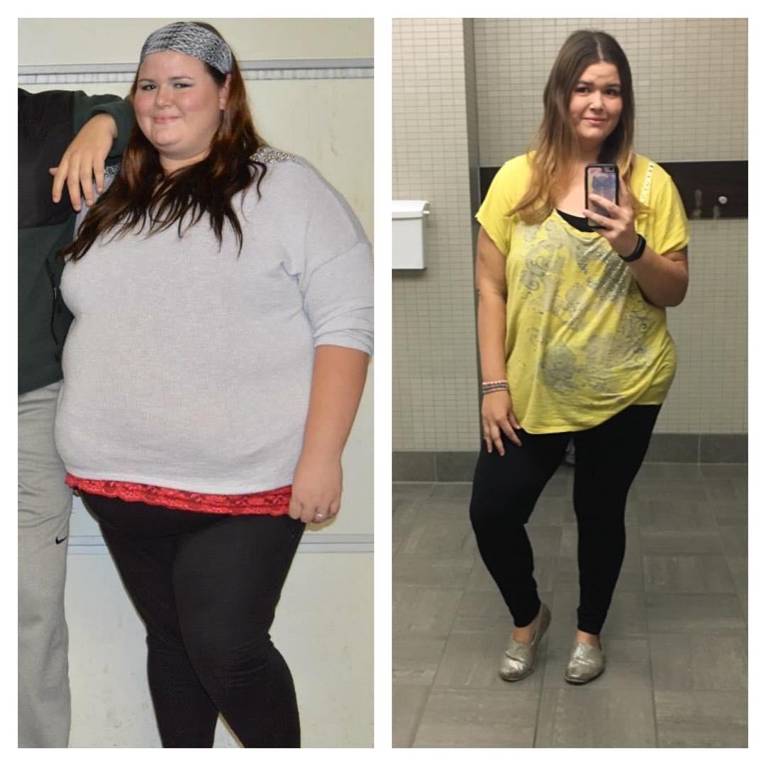 Контакт девушки которые похудели