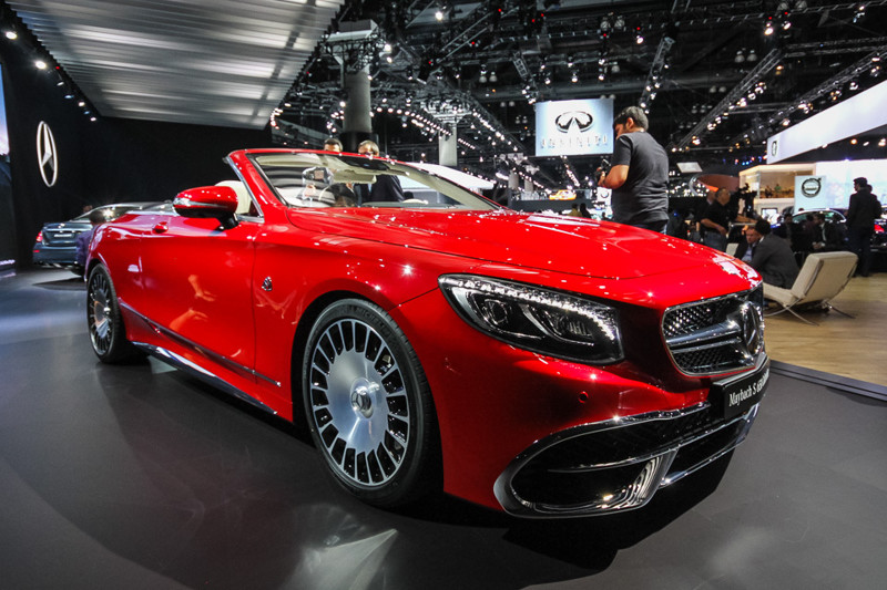 Mercedes-Maybach S 650 Cabriolet. Лос-Анджелес 2016, авто, факты