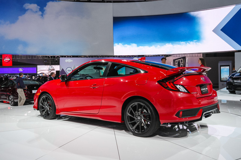 Honda Civic Si. Лос-Анджелес 2016, авто, факты