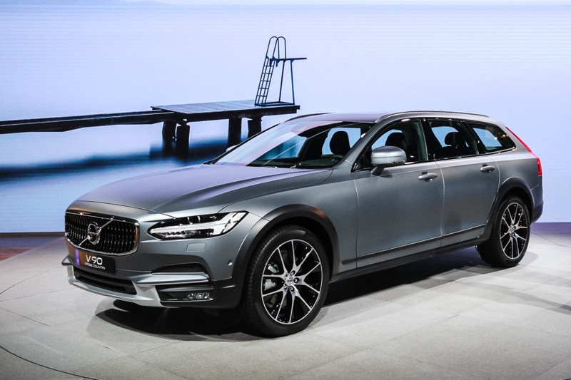 Volvo V90 Cross Country. Лос-Анджелес 2016, авто, факты