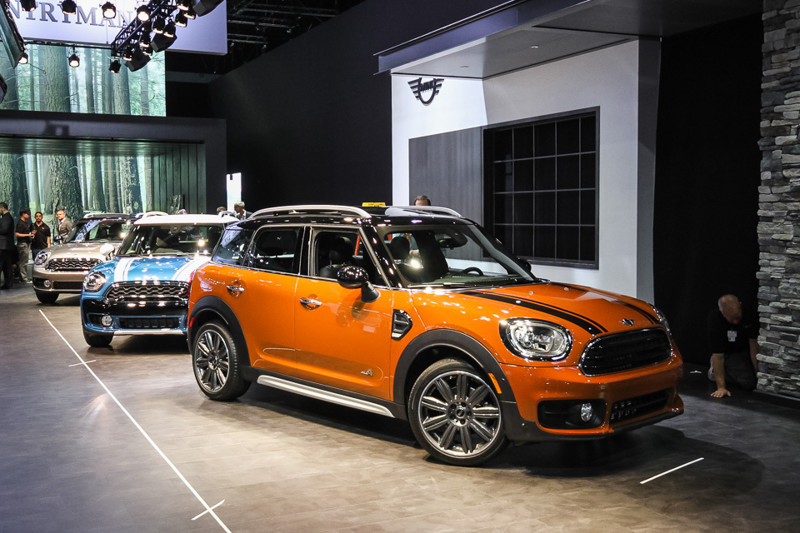MINI Countryman. Лос-Анджелес 2016, авто, факты