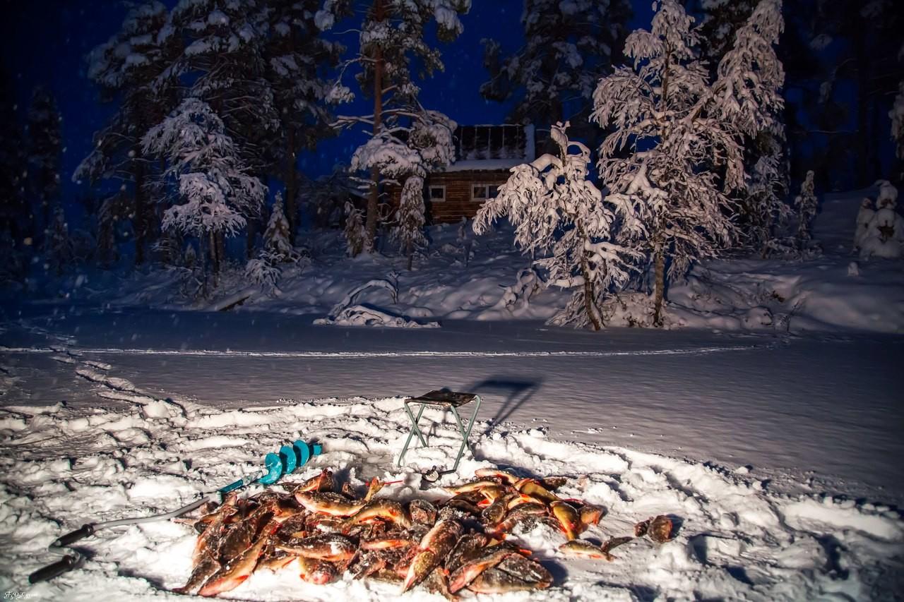 Зимняя ловля на севере