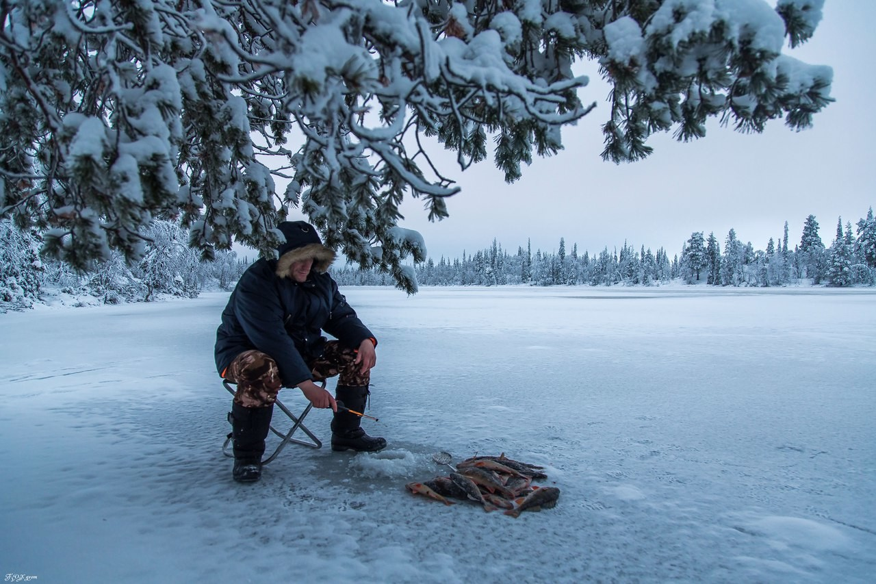 Картинки зимняя рыбалку