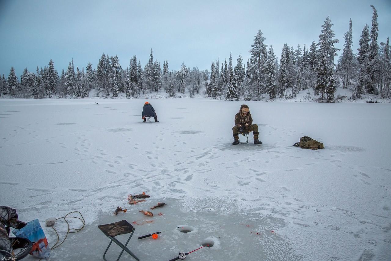Зимняя рыбалка на севере