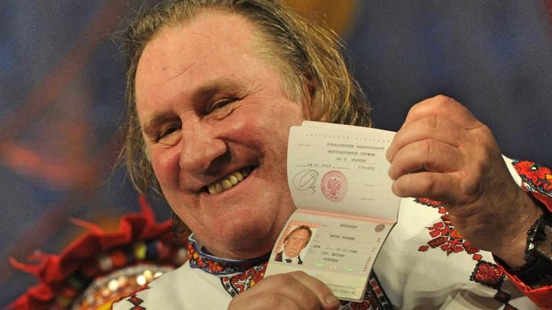 Жерар Депардьё гражданство, депардьё, звёзды, россия, россияне