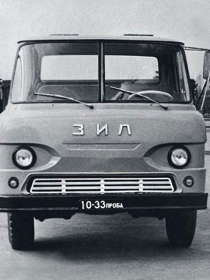 ЗИЛ Э169А – опытный автомобиль бескапотной компоновки зил, история, прототип