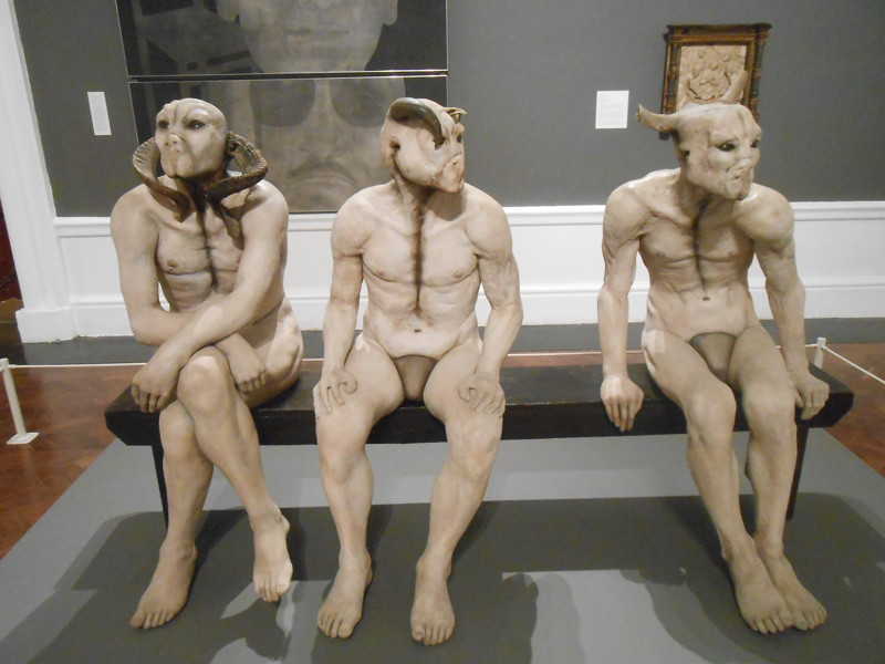 """Butcher Boys""  Jane Alexander, Изико-музей Кейптауна  искусство, скульптура, странное"
