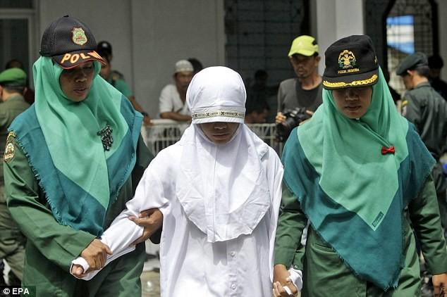 Казнь за секс в индонезии