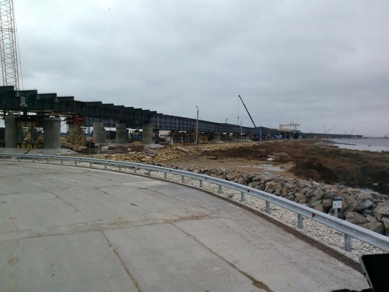 этому послужила керченский мост ход строительства фото подробно расскажет