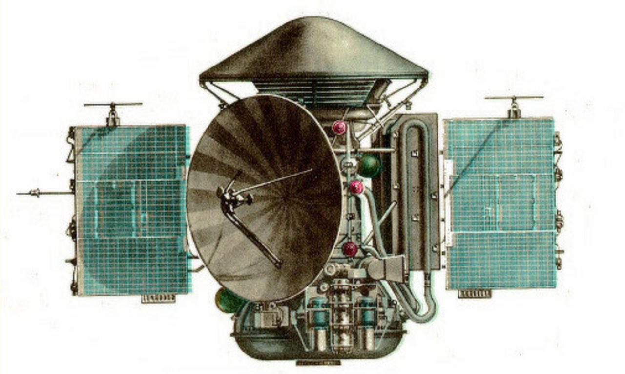 Первая мягкая посадка на Марс ровно 45 лет назад