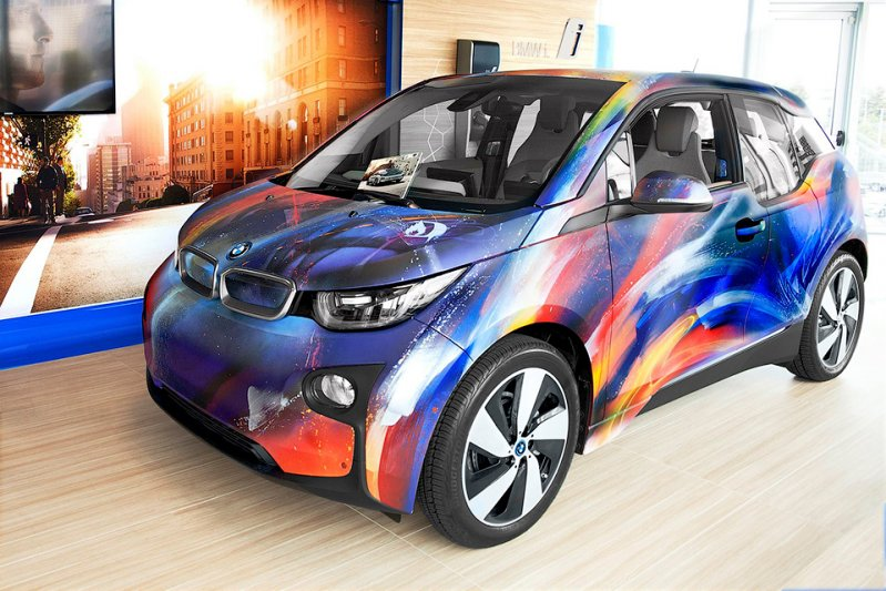 Unofficial 2015 i3, Себастиан 'Мистер Ди' Бойле BMW Art Cars, bmw