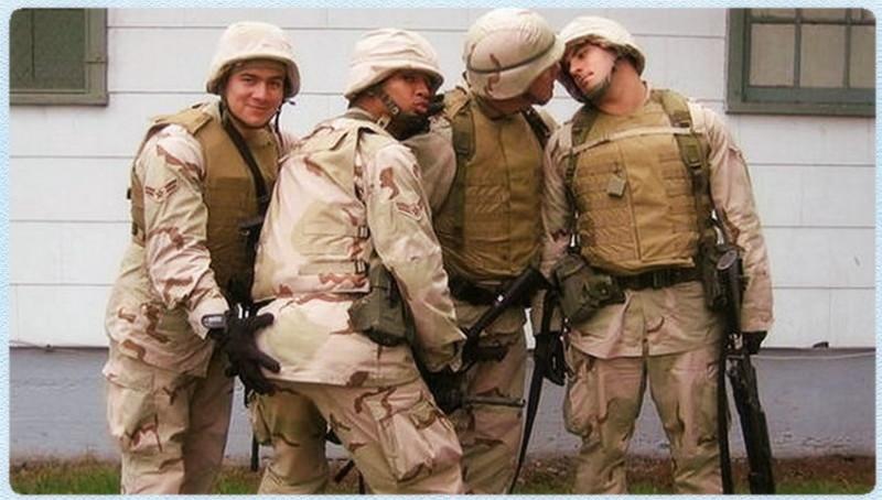 Гееи в армии