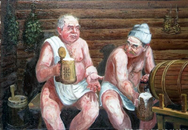 Парни в бане в контакте