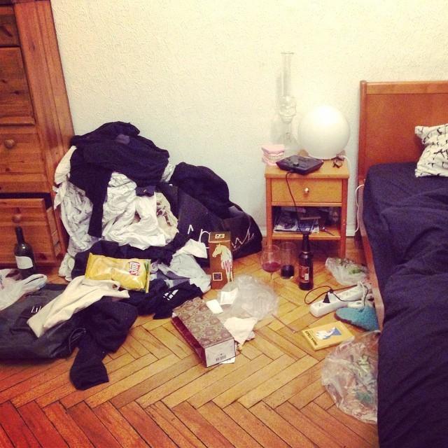 Как трахаца дома одной 14