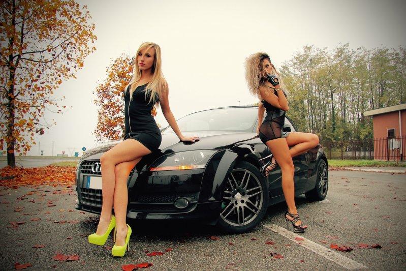 Русские девушки на высоких каблуках видео